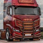 El espectacular diseño de éxito para el Iveco S-way de Dirbudesing