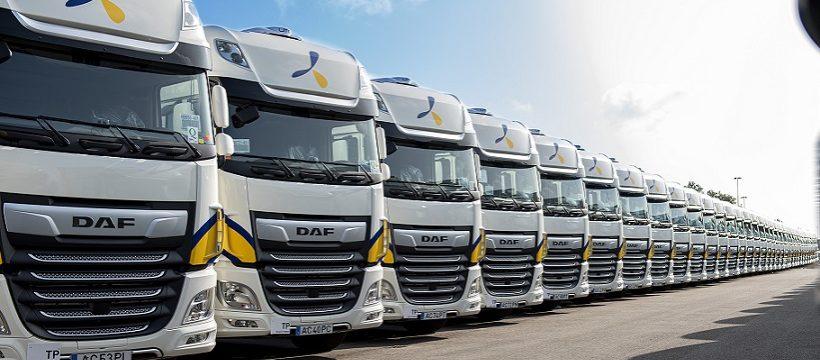 1300 camiones DAF XF 480 Super Space para el Grupo Primafrio