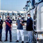 Intercox sigue confiando en Scania camiones, ahora con 60 nuevos 450 S