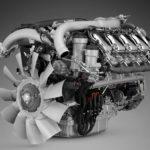 El nuevo motor del V8 de Scania se ha actualizado con más caballos y un par más alto