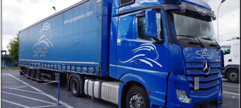 La filial de SESÉ busca 60 camioneros. «Los noveles pueden ganar hasta 2200 € al mes»