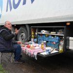 Nochebuena en el camión:  Camioneros informan de caos y condiciones inhumanas