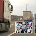 ¡Rápidos y Furiosos! Pandillas atacan subiéndose a camiones en movimiento para robar productos electrónicos