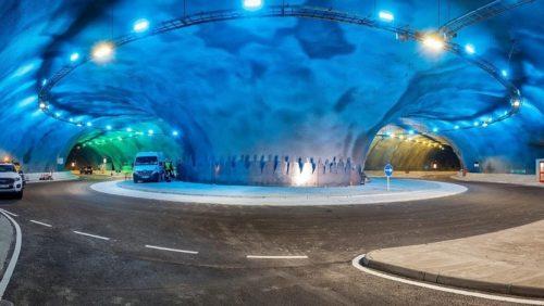 Llega «La primera construcción de una rotonda submarina del mundo» y está bajo el Atlántico!!
