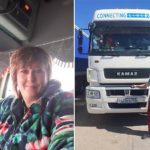 Mujeres al volante de un Kamaz: la vida de las chicas rusas que trabajan como camioneras