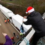 """Testimonio de un camionero español atrapado en Dover: """"Los polacos que viven aquí nos han traído agua y comida"""""""