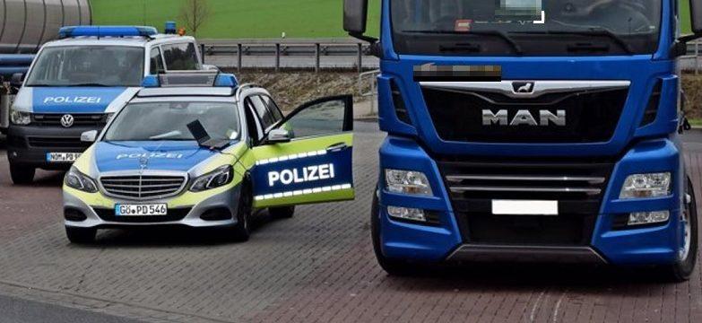 Polizei zieht au