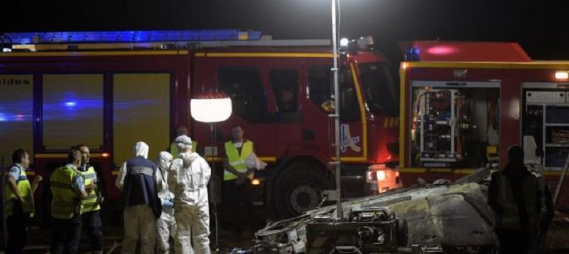 Detenido el camionero causante de una colisión frontal con tres fallecidos, en sentido contrario en la A9 Francia