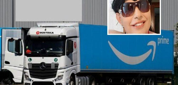 Sonia, una transportista ha estado 6 días esperando para descargar en Amazon