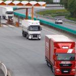 Los transportistas gallegos decepcionados por la vigencia del peaje de la AP-9