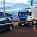 Camionero portugués interceptado a 118 km/h en lugar de 70 en el descenso de Perthus