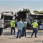 Absuelven a los acusados de quemar a un camionero y cinco camiones en San Isidro