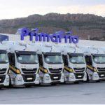 La compañía líder Primafrio se adhiere al Programa de Flota Ecológica certificado por AEGFA
