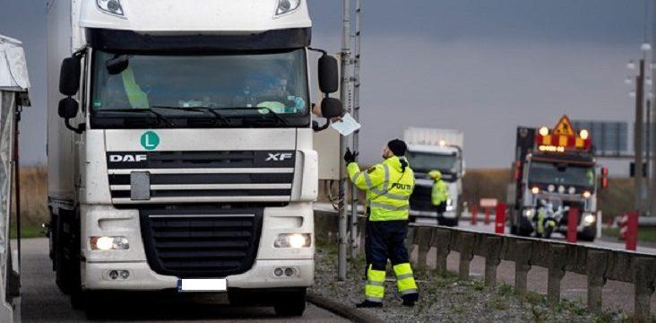 El transportista búlgaro es multado con 27 mil euros, por conducir 19 horas en un día.