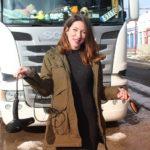 María José, de la peluquería a la carretera. «Si eres empresario del transporte léelo»