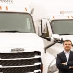 De camionero a empresario con éxito en EEUU. En 10 años construyó una potente empresa con 150 camiones