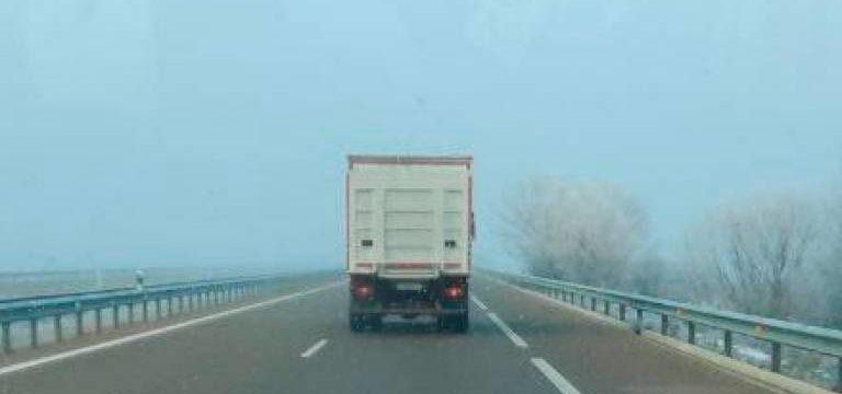 El camión camuflado de la DGT, ahora comienza a multar en Salamanca