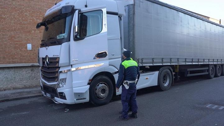 camionista dece