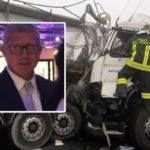 Accidentes de camiones debido a la niebla: muere un camionero de 53 años