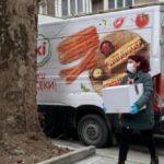 Bulgaria ha recibido la vacuna del Covid en furgonetas de salchichas