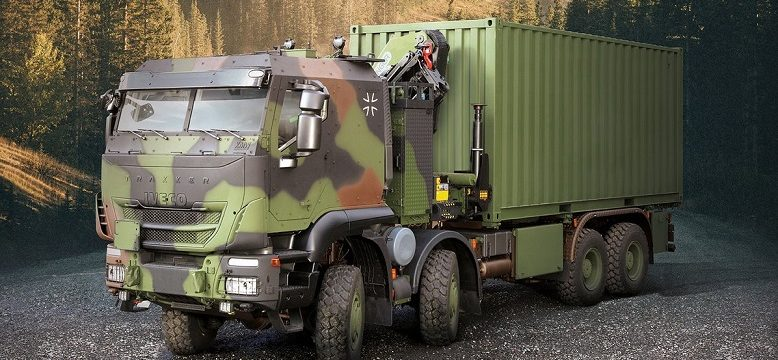Iveco entregará 1.048 camiones militares Trakker al ejército alemán