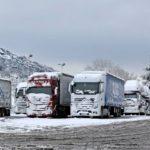La DGT prohíbe el tránsito de camiones en la AP-1 en Burgos, en la A-1 en Segovia y en la AP-66 en León