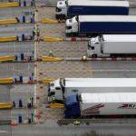 La mitad de los camiones regresan a Europa vacíos por la dificultad de las empresas británicas de exportar