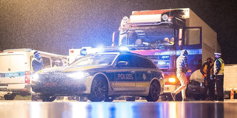 polizei lkw symb