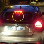 La señal distintiva te permite identificar los radares privatizados por la noche en Francia