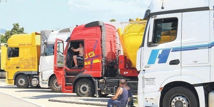 """Los patronos dicen que los camioneros """"Quieren salarios más altos de los que pueden ofrecerles»"""