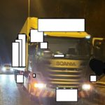 Denunciado el conductor de un camión por detenerse en la carretera a reestablecer su destino en el GPS
