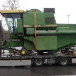Denunciados varios camiones polacos, por irregularidad en las cargas, mal estivadas y excesos de velocidad