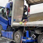 Ocho camioneros han fallecido en un mes y medio al estrellarse al final de un atasco en Alemania