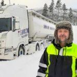 Hasta el 43% de los conductores nórdicos pasan frío en el camión. Scania y Volvo dicen que el aislamiento debería ser bueno.
