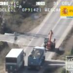 89 conductores de camiones sancionados en Sevilla en la operación especial de la DGT