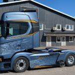 Scania Frostfire: la última gran creación del famoso constructor de camiones sueco Sven Erik