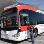 El primer autobús sin conductor comienza en Málaga, llevará conductor.