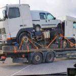 Multa de 3.291 € a un camionero por un transporte lleno de irregularidades