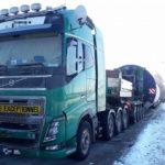 Polonia denuncia con 66.500 € a una empresa alemana, por cabotaje ilegal y transporte excepcional sin permiso.