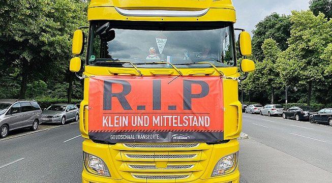 Los transportistas convocan manifestaciones en Berlín el 25 y 26 de Marzo, por la ineficacia de paquete de movilidad con el cabotaje ilegal