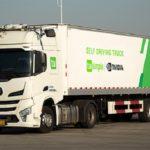 La marca de camiones TuSimple recibe autorización para operar 5.000 camiones sin conductor en China
