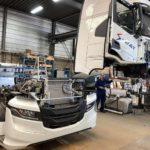Se prepara la nueva versión del nuevo camión Iveco S-Way con morro.