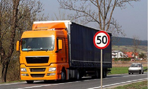 limite de velocidad para camiones academia del transportista