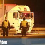 Un camionero herido por la disputa de una plaza de parking en la gasolinera de Terminalstrasse