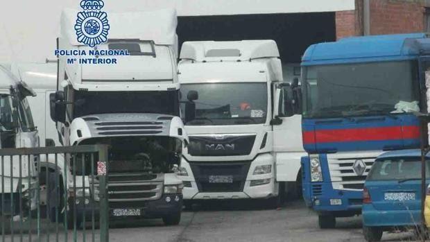 sucesos hurto camiones kBAE