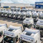 Grupo Perea adquiere 45 vehículos Scania en su apuesta por el bajo consumo y fiabilidad.