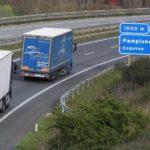 Navarra estudia prohibir el paso de camiones en fin de semana