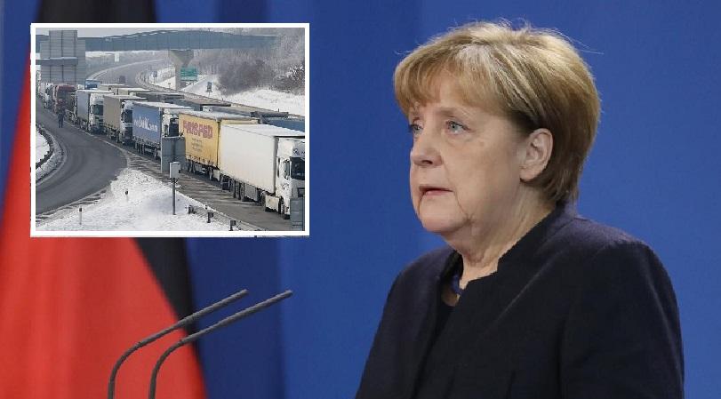 IRU implores Angela Merkel show leadership on European border chaos