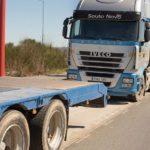 Aparecen 25 camiones dañados victimas de gamberradas en el polígono lucense de As Gándaras
