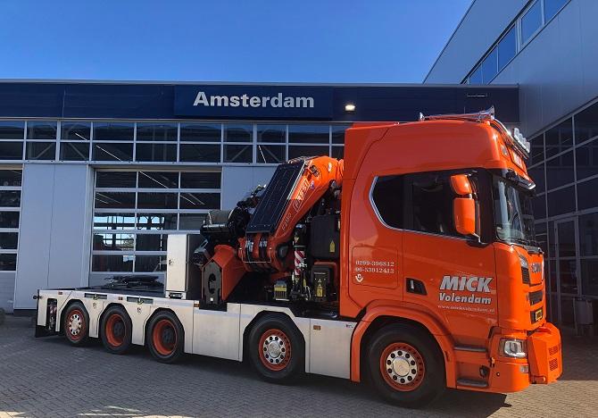 Mick Volendam Scania 2 pers 2021